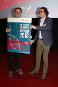 Uitreiking Echte Preventie Award 2018 - Fieldbit
