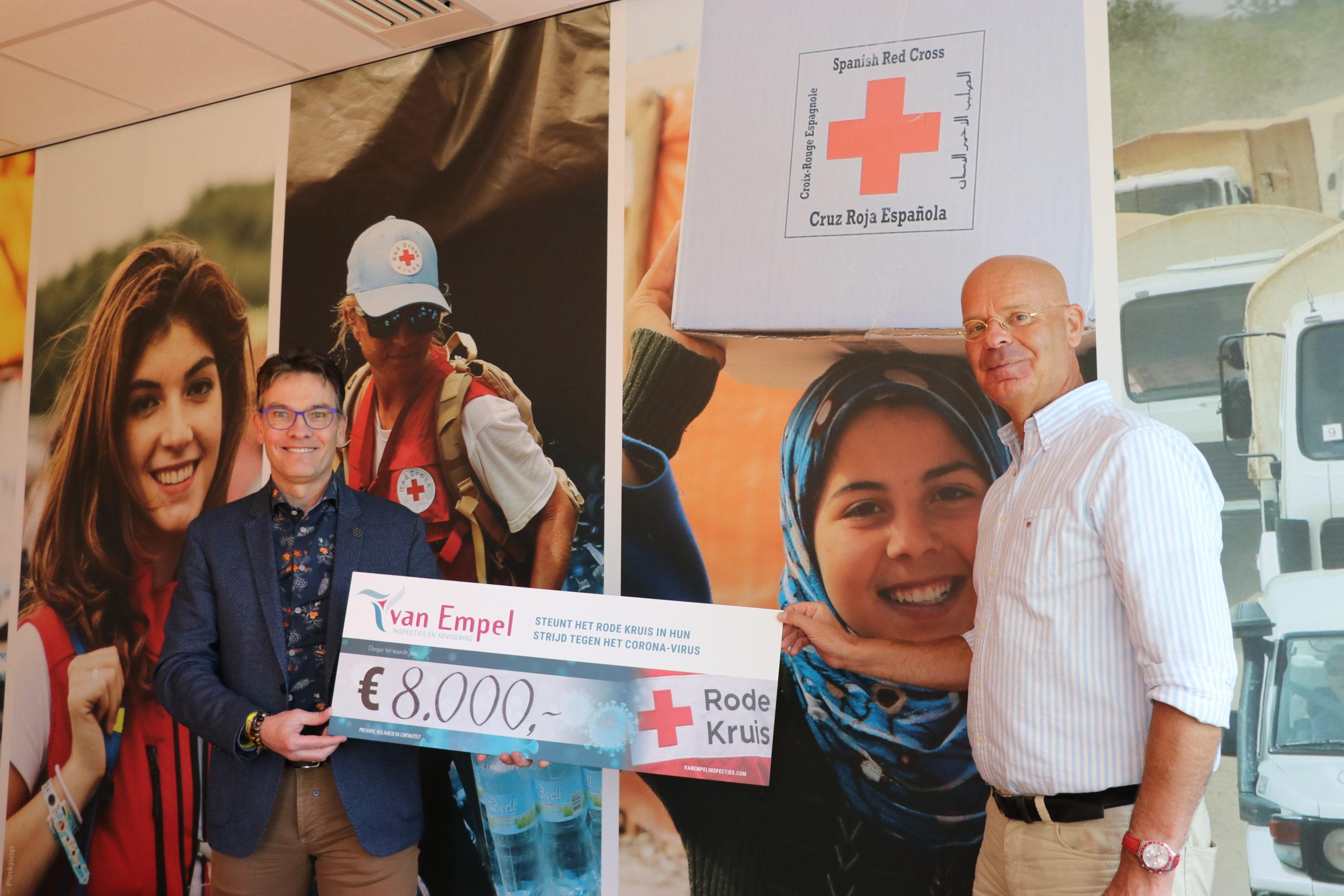 Rode Kruis actie